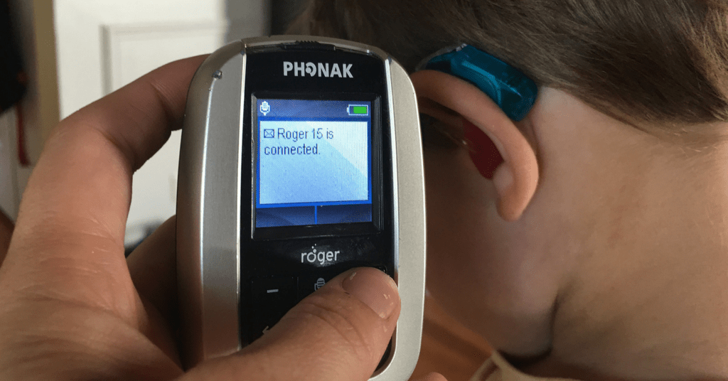 Why using Roger technology at home benefits my hard of hearing child