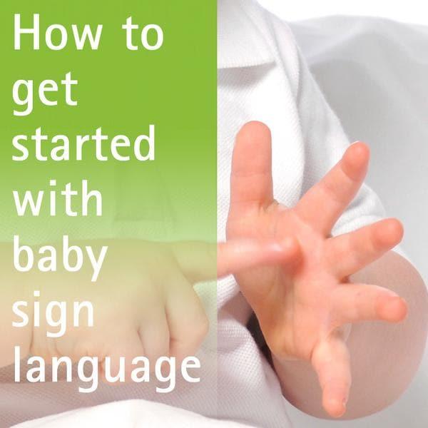 Learing Sign Language Baby Toddler