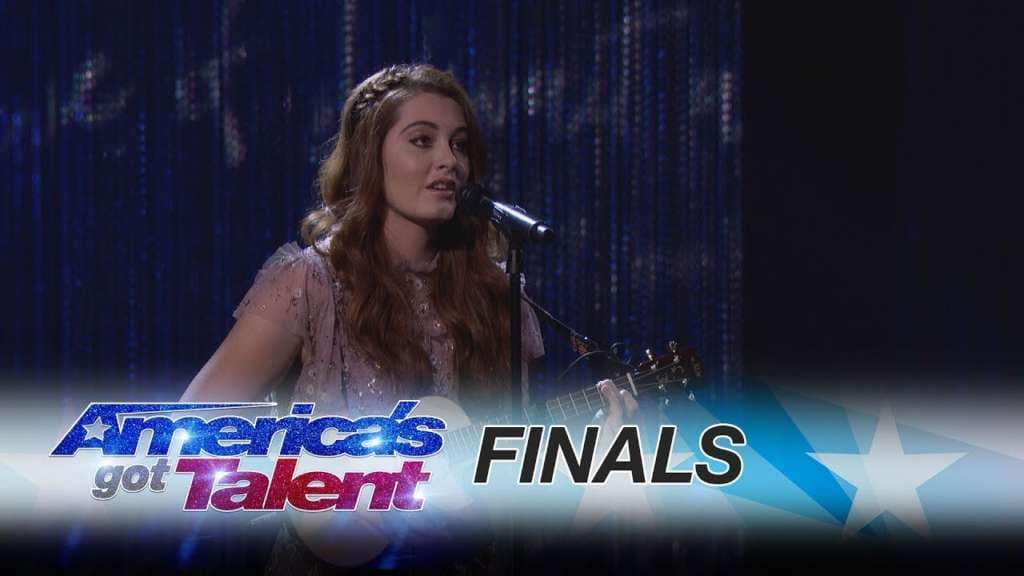 Deaf singer Mandy Harvey gives an unforgettable performance on AGT finals