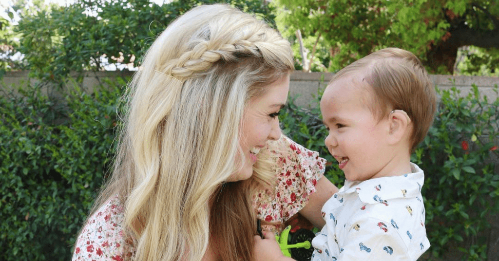 Mom finds hearing loss support for her son on Instagram