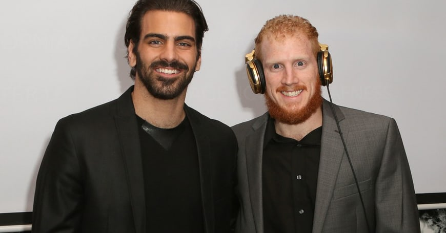 Nyle DiMarco's twin brother, Nico, proves Deaf can DJ