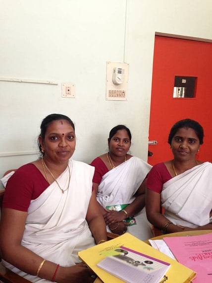 3 of the 4 teachers who do all the audiology stuff on top of their normal teaching!)