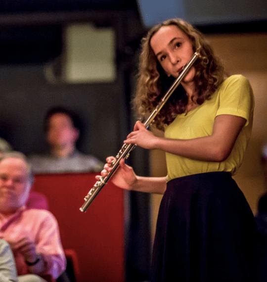 deaf flautist